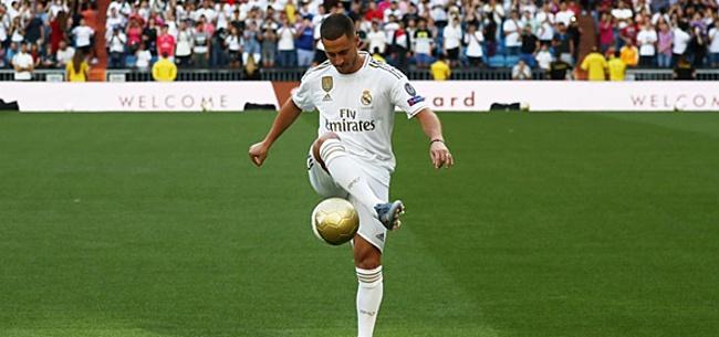 Foto: 'Real laat uitgekotste Hazard vertrekken: 50 miljoen verlies'