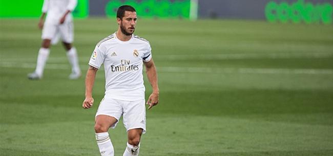 Foto: 'Real Madrid ontkent opvallend bericht over Hazard'