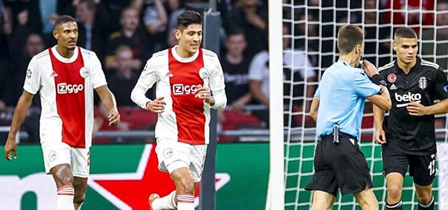 Foto: 'Ajax zwijnt: arbitrale dwaling tegen Besiktas'