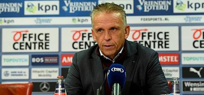 Foto: Sturing aast op primeur tegen PSV: 'Dat ga ik ze zo ook mooi vertellen'