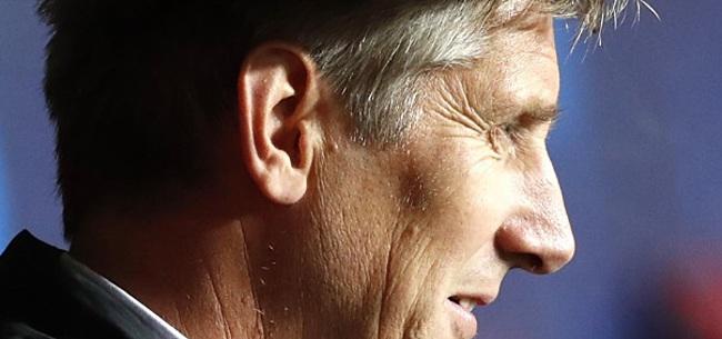 Foto: Van der Sar reageert: