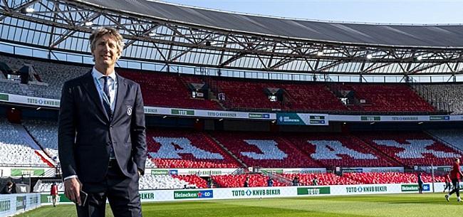 Foto: Ajax distantieert zich van Super League: