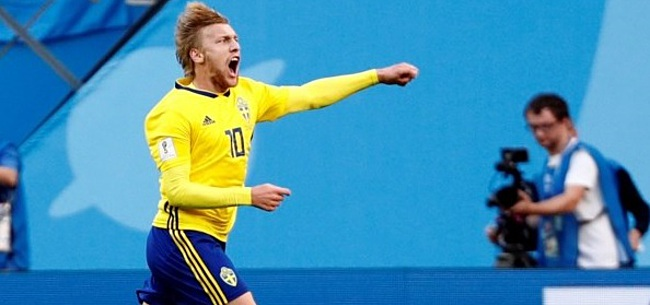 Foto: EK: 'Laf' Zweden pakt na draak van een wedstrijd volle buit