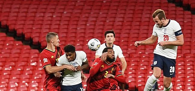 Foto: Engeland brengt Belgen eerste nederlaag toe