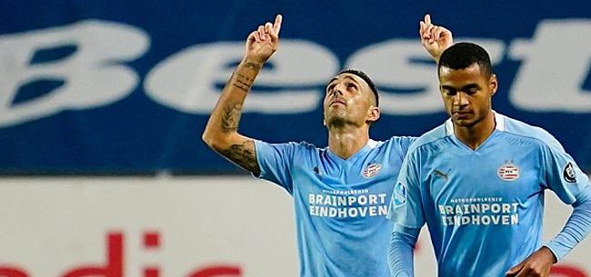 Foto: Domper voor PSV: spits dreigt PEC-uit te moeten missen