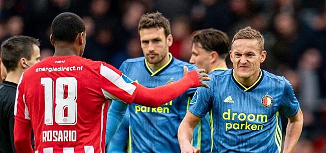 Foto: 'Feyenoord geeft duidelijk signaal af na remise bij PSV'