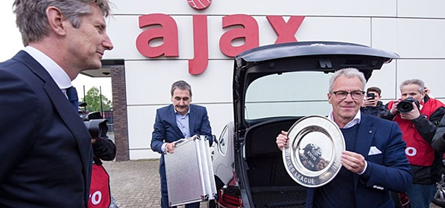 Foto: 'Ajax ondanks negatief advies solidair met KNVB'