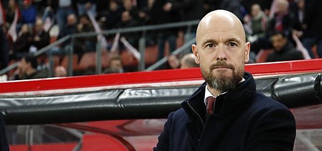 Foto: 'Ten Hag spreekt zich totaal tegen bij Ajax'