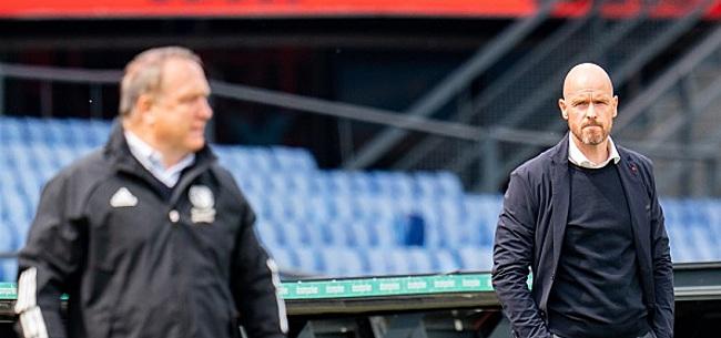 Foto: Ten Hag prijst Ajax: