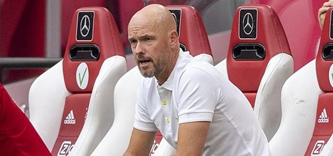 Foto: Ajax-talent getipt bij Ten Hag: 'Volgens mij is hij er klaar voor'