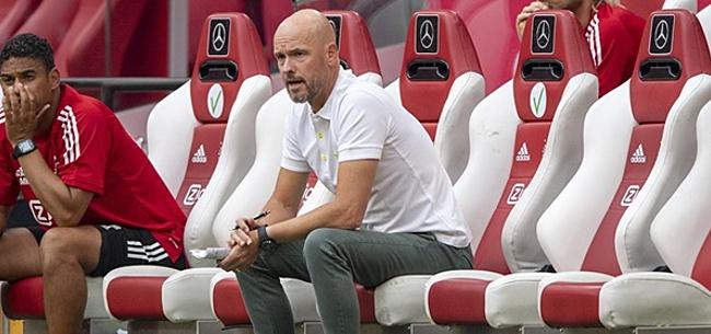 Foto: 'Enorm probleem Ten Hag door Ajax-transfer'