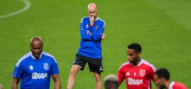 Foto: 'Ten Hag in 2022 weg bij Ajax'