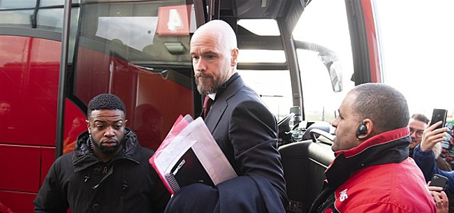 Foto: Ten Hag treurt om late zeperd Ajax: