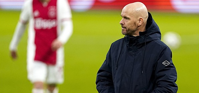 Foto: Ten Hag geeft toe: