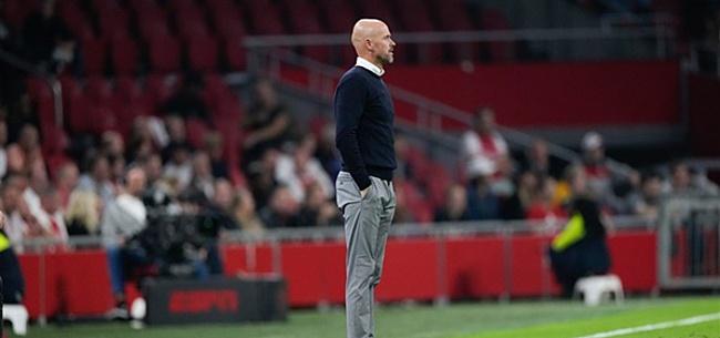 Foto: 'Ten Hag past Ajax-opstelling aan'