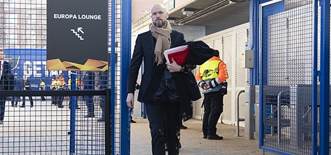 Foto: Ajax komt Ten Hag tegemoet: