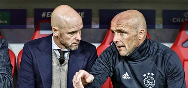 Foto: Ajax weigert bod van één miljoen euro op Alfred Schreuder