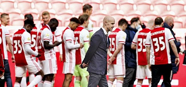 Foto: 'Ten Hag dacht totaal niet aan Ajax-afscheid'