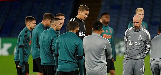 Foto: 'Ajax met verrassende basisspeler in Frankrijk'