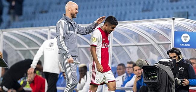 Foto: Ajax-duo maakt pas op de plaats: 'Je kan het een terugslag noemen'