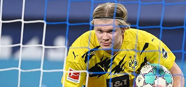 Foto: Haaland velt duidelijk oordeel over zijn 'rivaal' Lewandowski