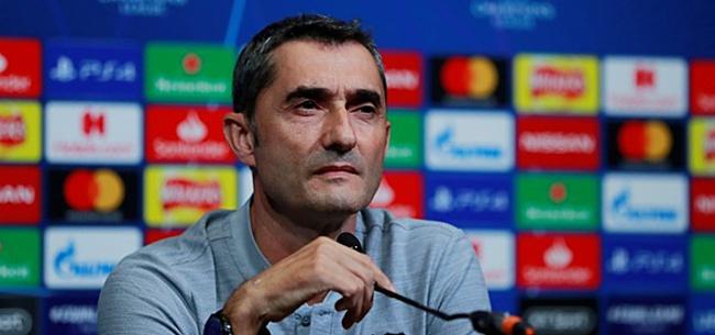 Foto: Valverde heeft boodschap voor pers: