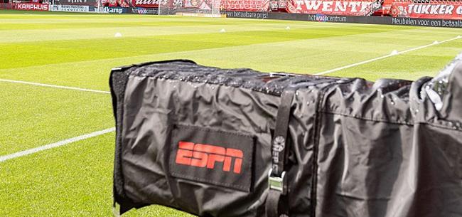 Foto: 'ESPN moet keihard ingrijpen na duels Ajax en PSV'