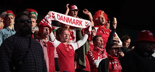 Foto: Denemarken-Finland hervat, België-Rusland gaat door