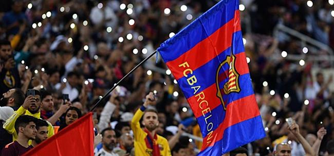 Foto: Barcelona-fans willen spelers naar Ajax sturen: 'Magisch'