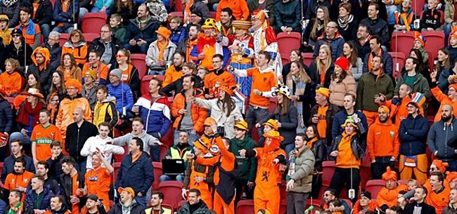 Foto: Oranje-fans komen in opstand: 'Rot op'