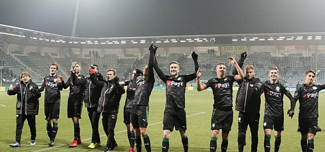 Foto: FC Groningen neemt afscheid van spits: