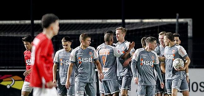 Foto: Volendam kleineert na PSV-talenten ook Jong AZ