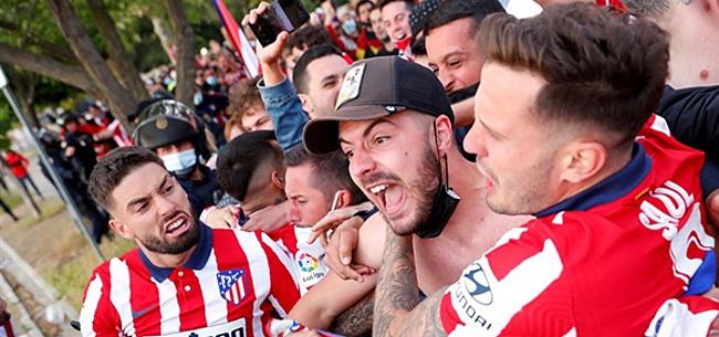 Foto: Atlético ontsnapt in La Liga