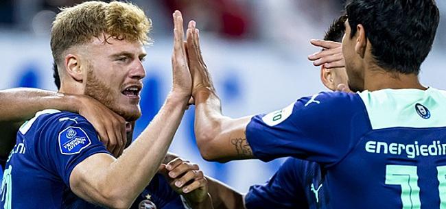 Foto: PSV-fans gaan los: