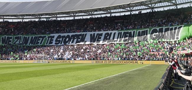 Foto: Herkansing in De Kuip: 'Dat zou niet des Feyenoords zijn'
