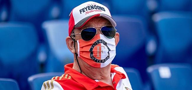 Foto: Feyenoord-fans denken te weten wie de speler met corona is