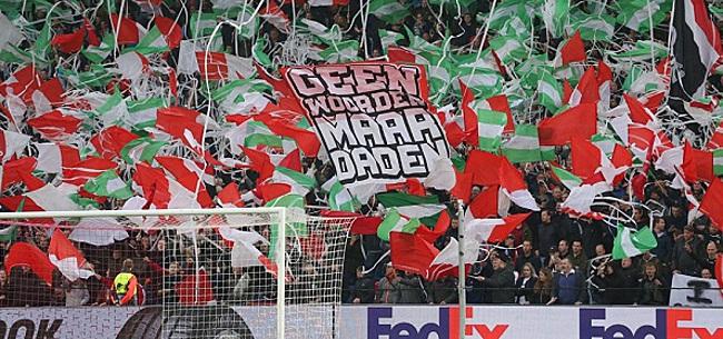 Foto: 'Clubs als Feyenoord hebben fans die echt niet thuis gaan zitten'