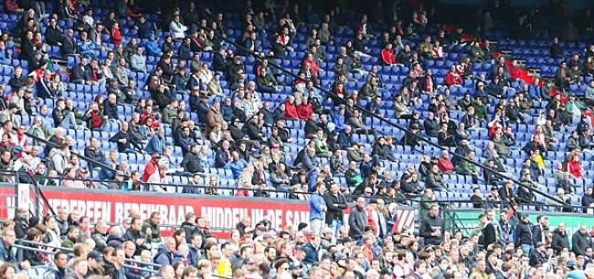 Foto: Uitgefloten door eigen Feyenoord-fans: 'Ze snapten mij niet'