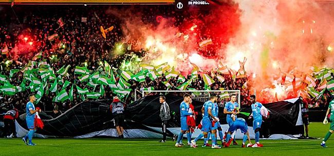 Foto: 'Feyenoord-aanhang veroorzaakt grote paniek'