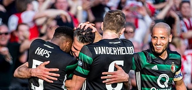 Foto: Feyenoorder nu wél gelukkig: