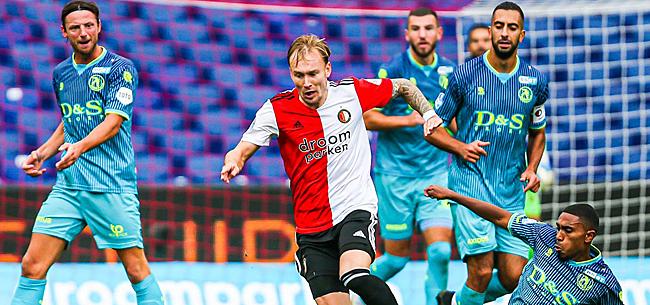 Foto: Zwak Feyenoord speelt gelijk tegen Sparta Rotterdam