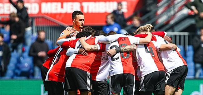 Foto: 'Aanvallerstrio dreigt Feyenoord te verlaten'