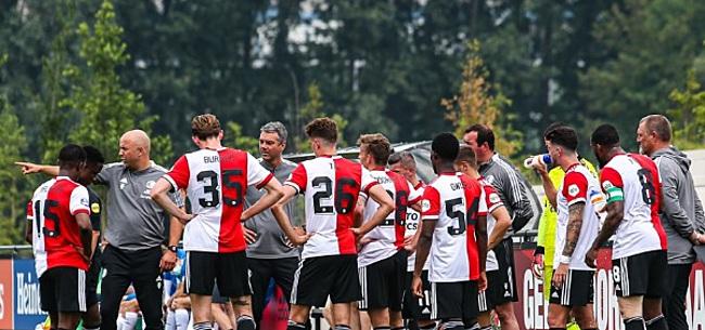 Foto: Feyenoord in grote onzekerheid na Europees duel