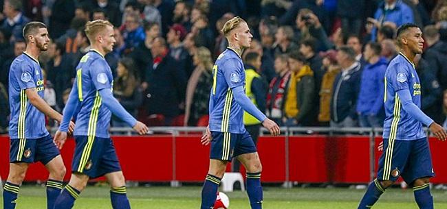 Foto: 'Feyenoord bezorgt vrezende fans nieuwe tegenslag'