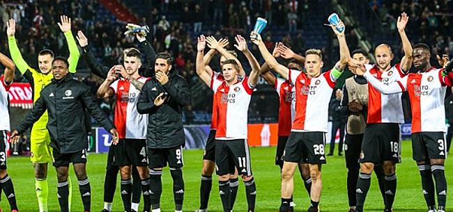 Foto: Vermoedelijke opstelling Feyenoord tegen Vitesse