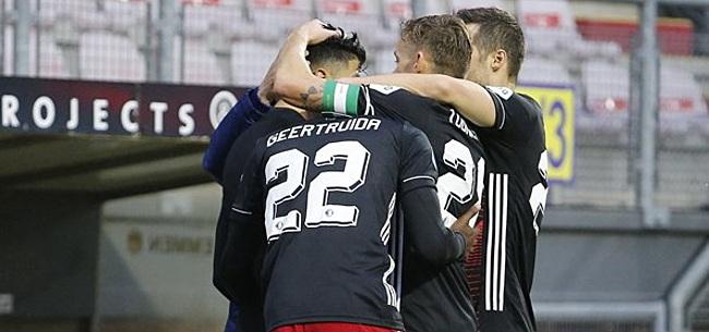Foto: Feyenoord-plan werkt argwaan: