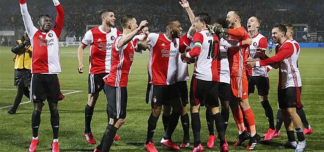 Foto: Geloof bij Feyenoord: