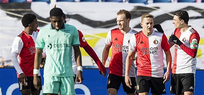 Foto: Spitsenstrijd Feyenoord kent verrassende winnaar
