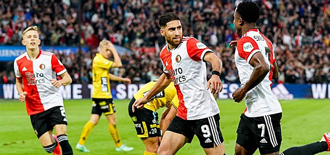 Foto: 'Feyenoord miljoenen rijker na 5-0 zege'