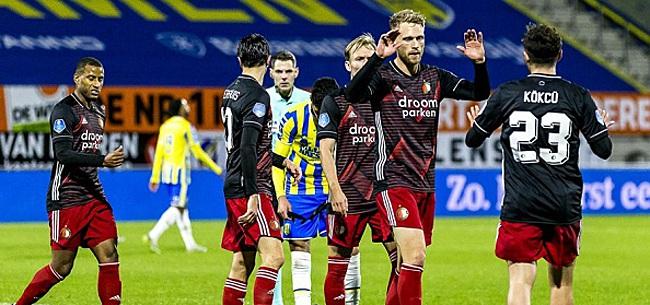 Foto: Feyenoord-fans willen af van vijftal: